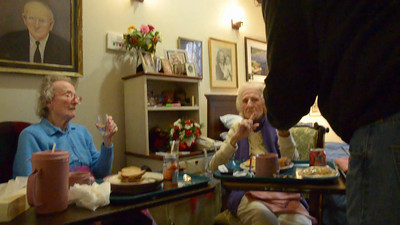 Video of Last visit with Marion & Edith (3 of 3)
