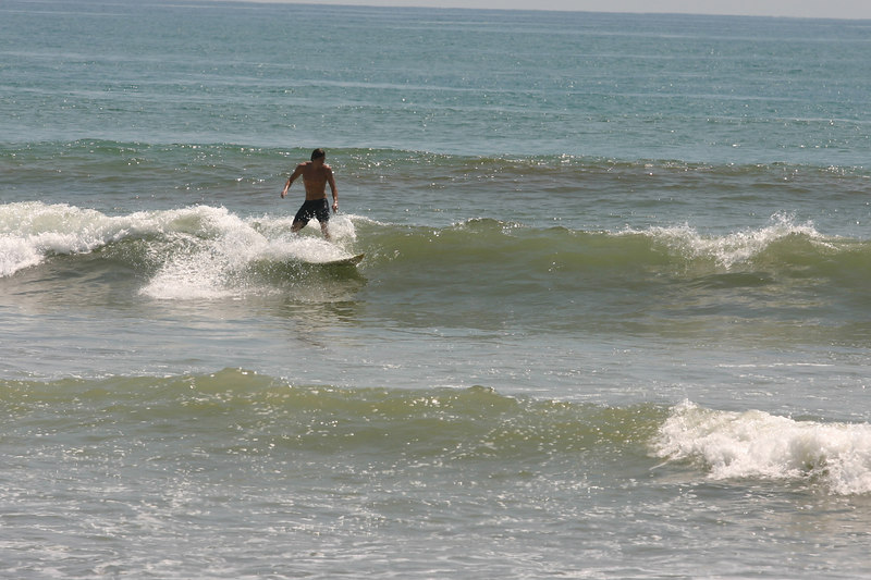 . . . a very popular spot for surfers.