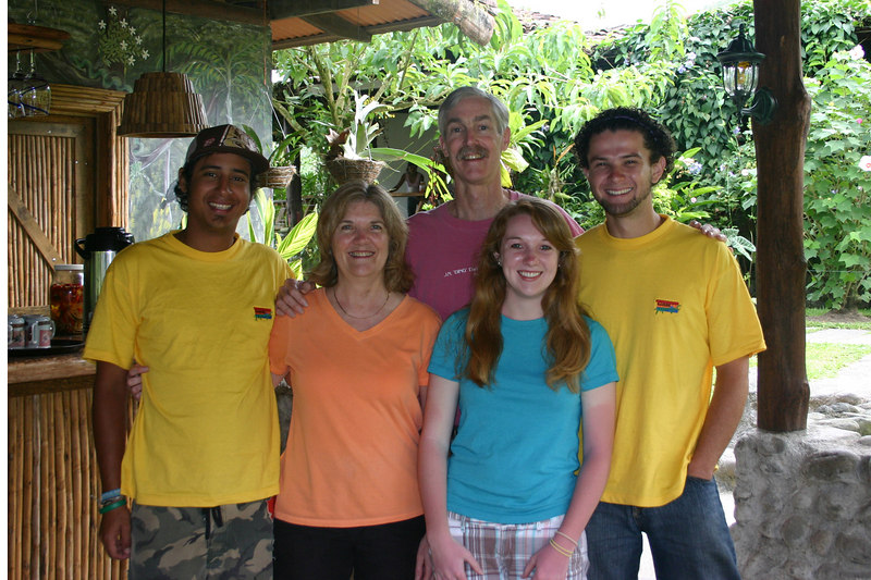 . . . and then said our goodbyes to the Rancho Margot staff, who had been so helpful and kind to us during our stay.