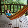 After the ride back it was hammock time -- we were tired!