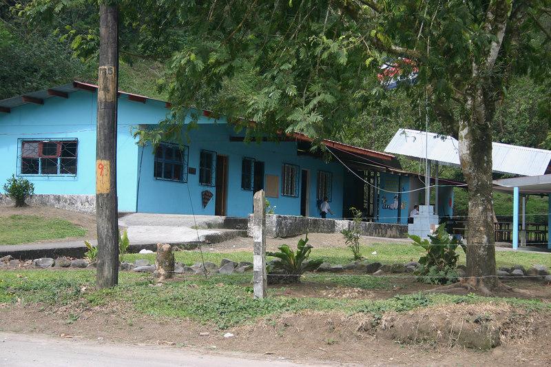 . . . the school in El Castillo . . .