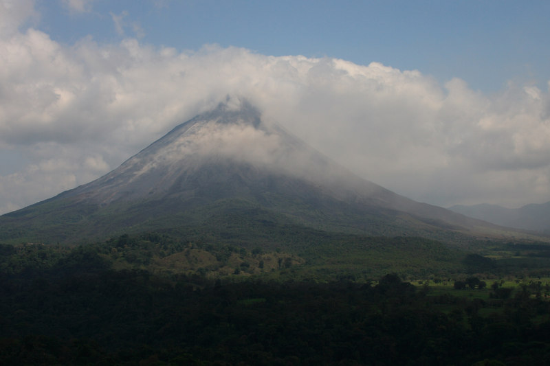 . . . the Arenal Volcano and . . .