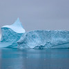 Blue Iceberg near Deception Island, Antarctica
