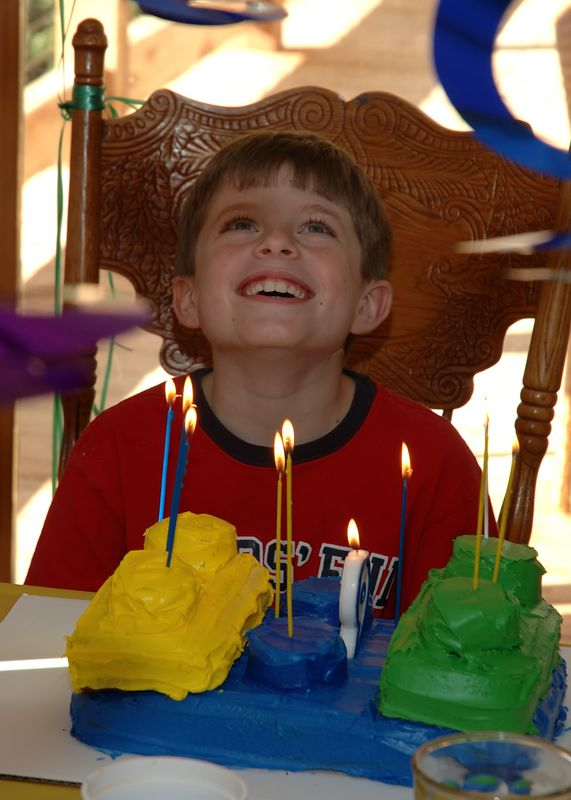 Tyler's 9th birthday.  9-24-05