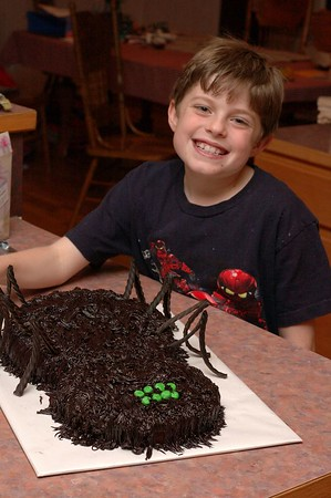Best Big Hairy Spider cake!!