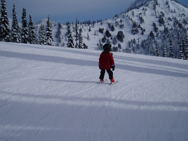 Little ski bunny!