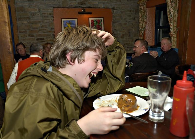 Tyler's 11th Birthday Dinner