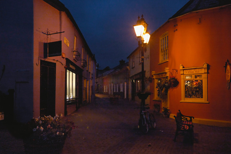 The quiet streets of Kinsale