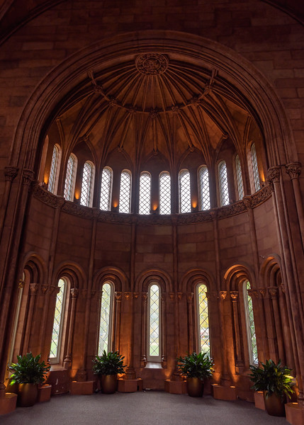 interiors of Smithsonian Castle on National Mall