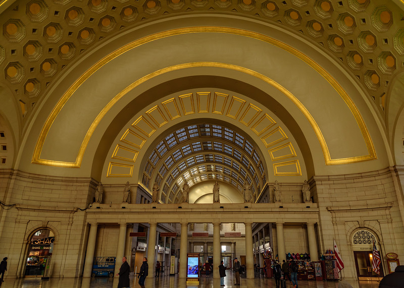 interiors of Union Station