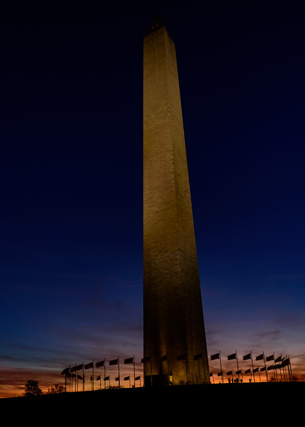 Washington Monument at Blue Hour