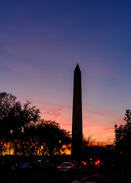 Washington Monument at Golden Hour