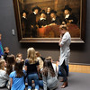 Schoolkids in the Rijksmuseum