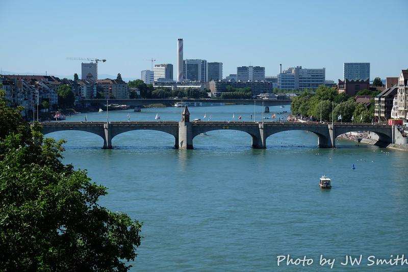 Rhine - Looking Downstream