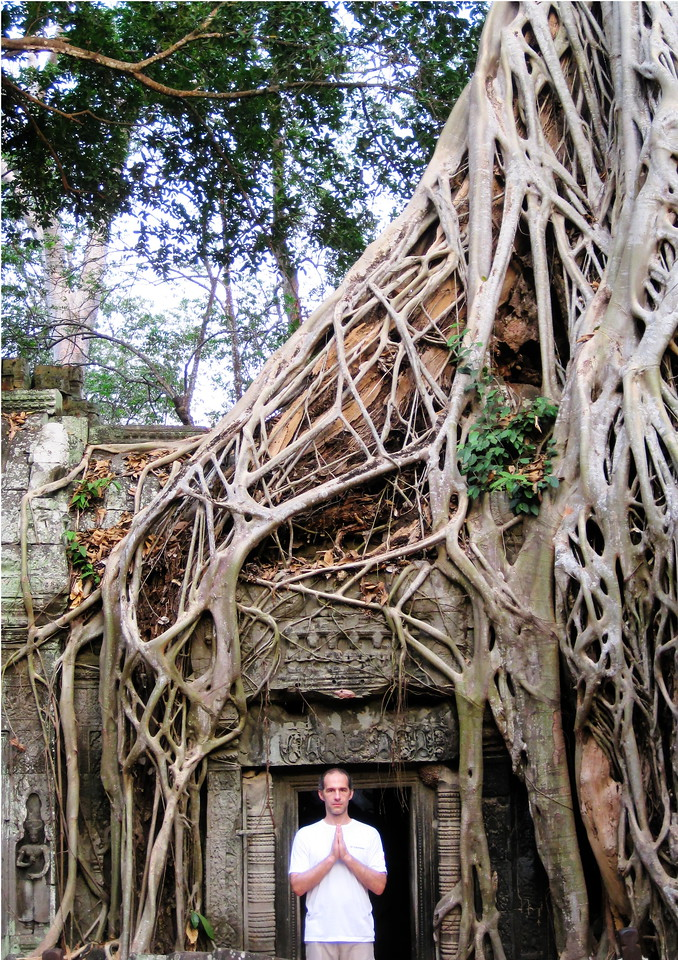 Bong Tim in Ta Prohm.