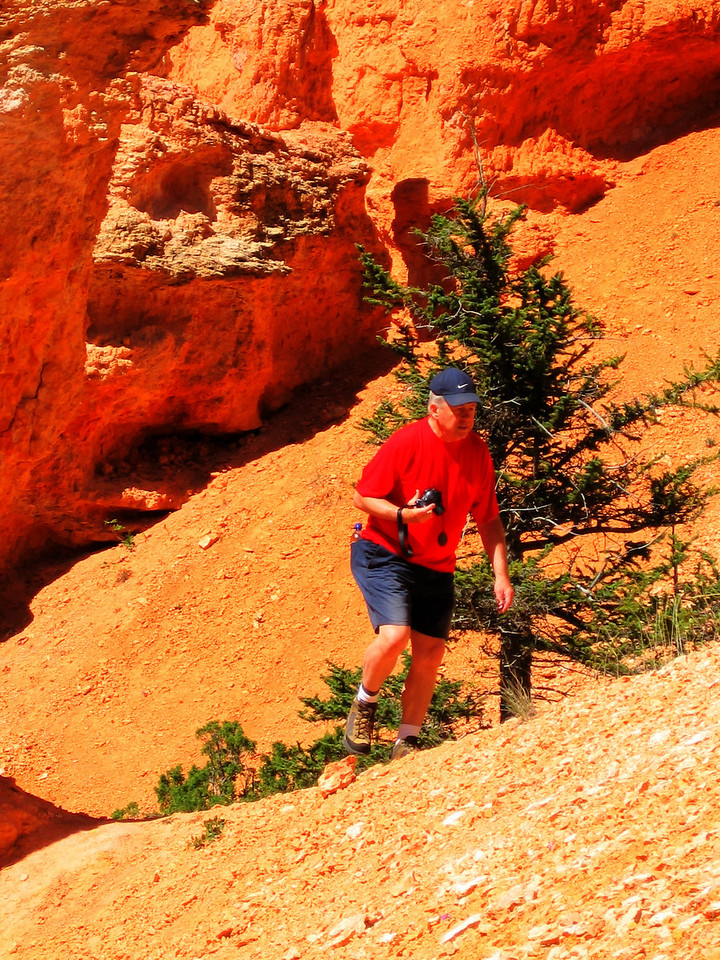 Pops in Bryce Canyon