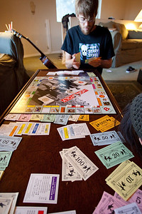 Playing Beatles Monopoly