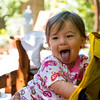 Father's Day at Geoff/LeAnn's<br /> <br /> Baby Harper - tongue fun!