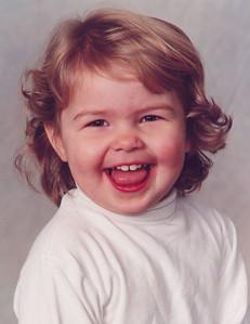 Kayla's daycare picture.  September 1999