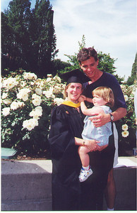 Kris graduated from the University of Washington with her Masters in Computer Science, a proud day for all of us.  June 1999
