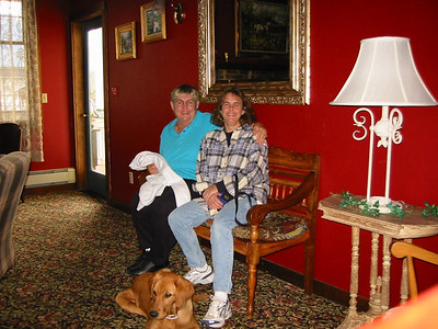 Kris and her Mom enjoyed a night away at an inn near Snoqualmie.