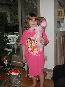 Kayla, the Christmas Fairy.