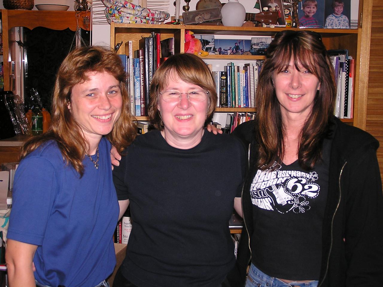 Elaine, Mary and Susan.