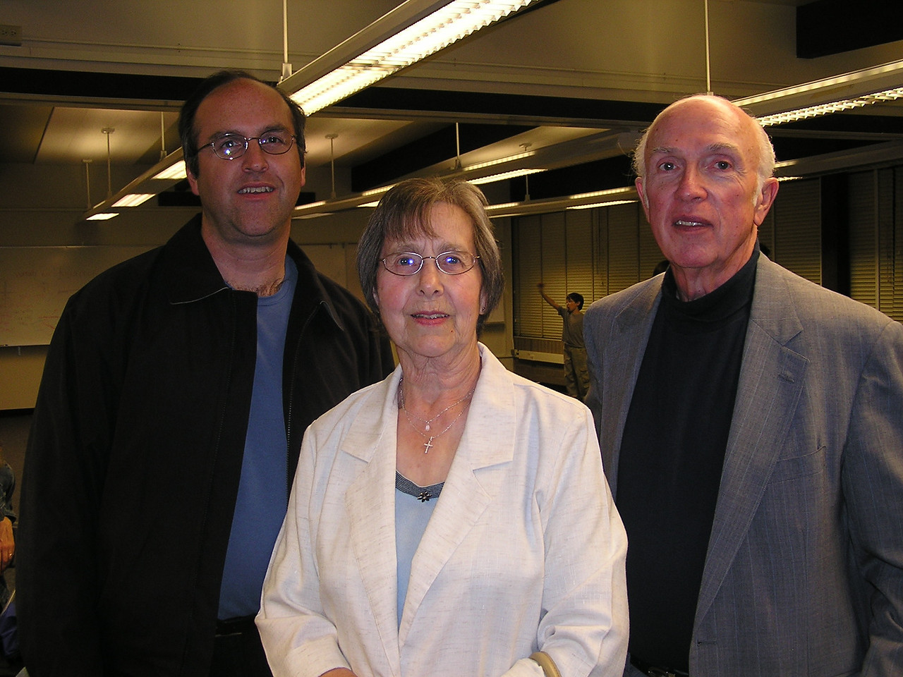 (L to R) Martin's cousin Gary Simmons and Martin's Aunt Mary and Uncle Carl Simmons.  Gary is their 5th son.