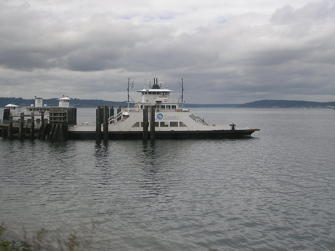 A cute little ferry, according to Mary.  Don't you agree?