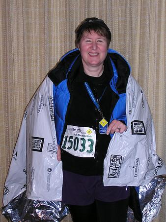 Seattle Marathon, Nov 26, 2006