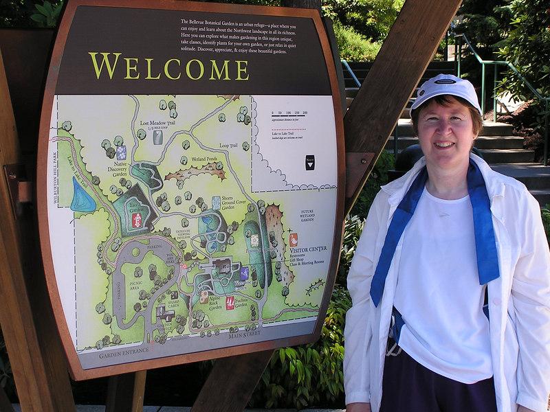 Bellevue Botanical Garden volkswalk, July 8, 2006