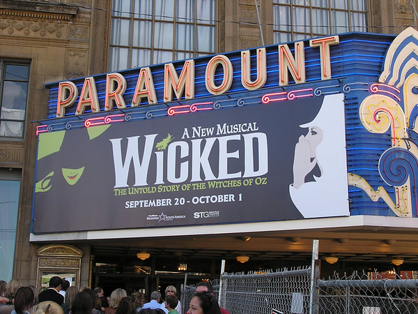 Wicked, the musical, Oct 1, '06