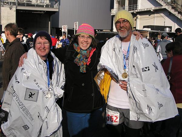 2007 Seattle Marathon, Nov 25