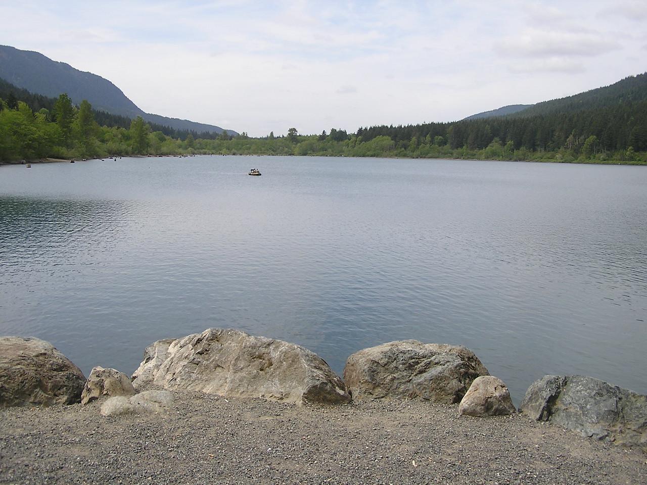 Rattlesnake Lake, South of North Bend, Washington.