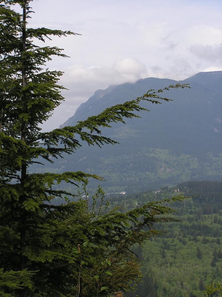 Mount Si from Cedar Butte.