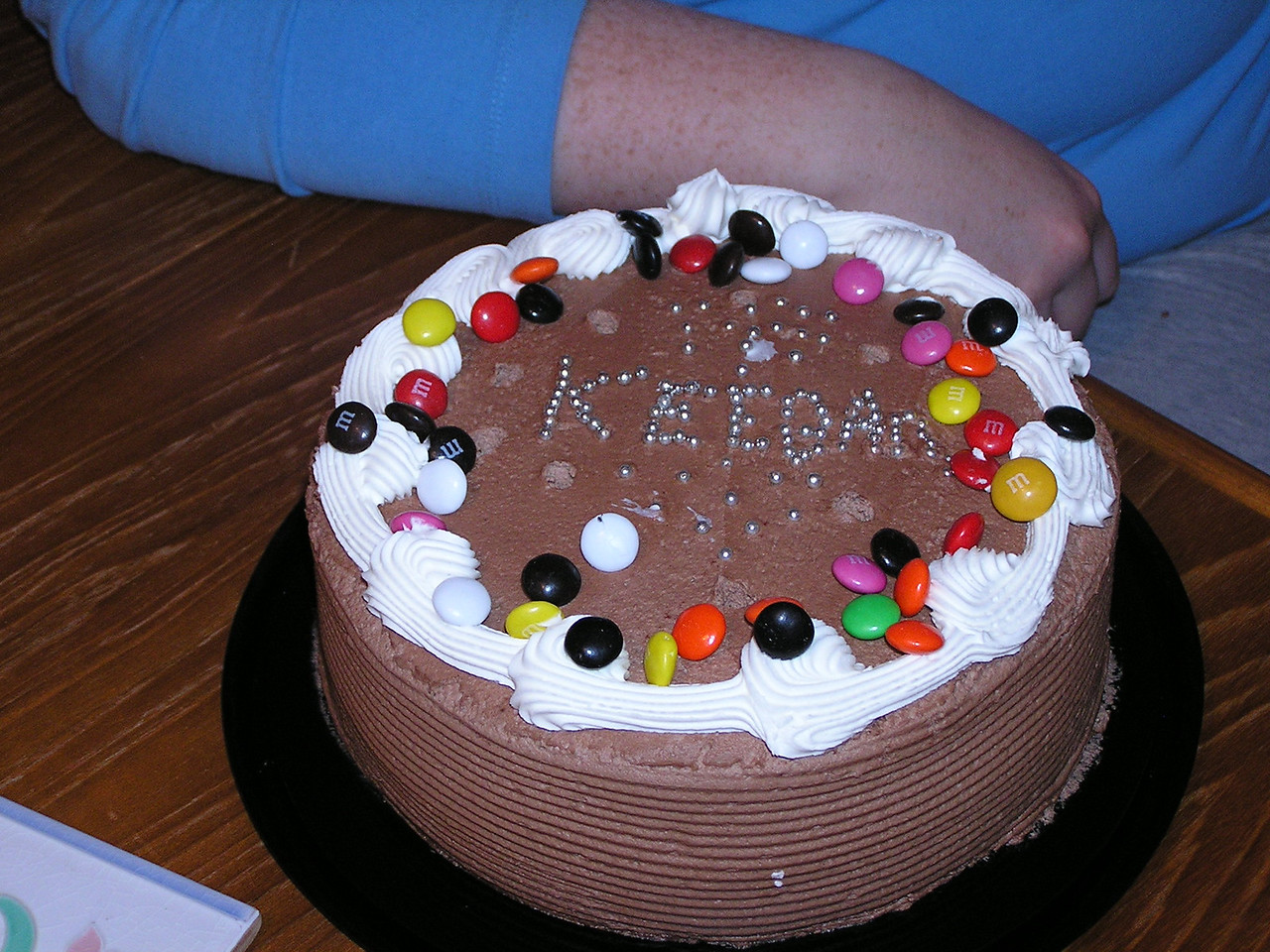 Ummmmm ....  Chocolate cake.