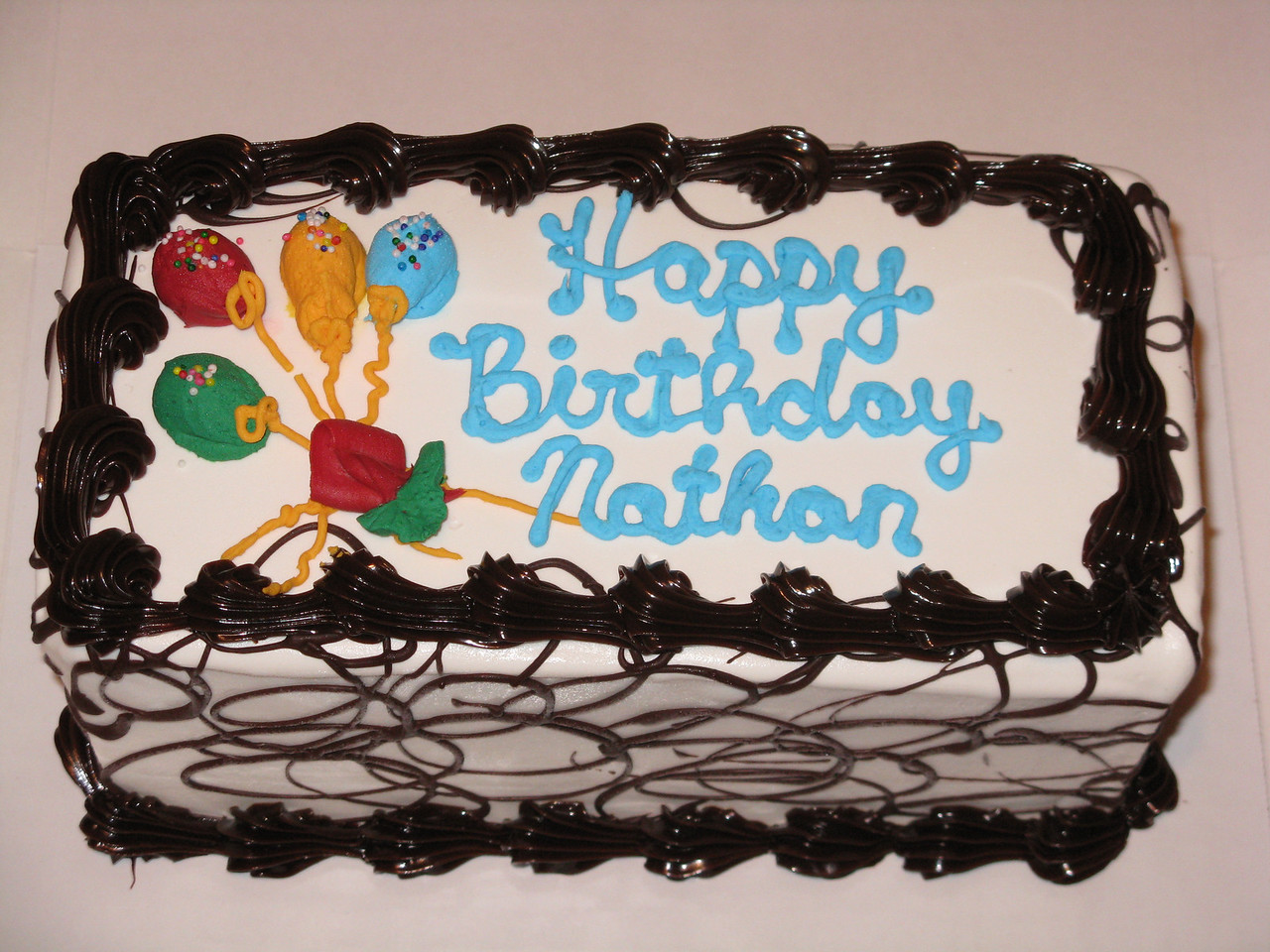 On Oct 22, we celebrated Nathan's birthday.