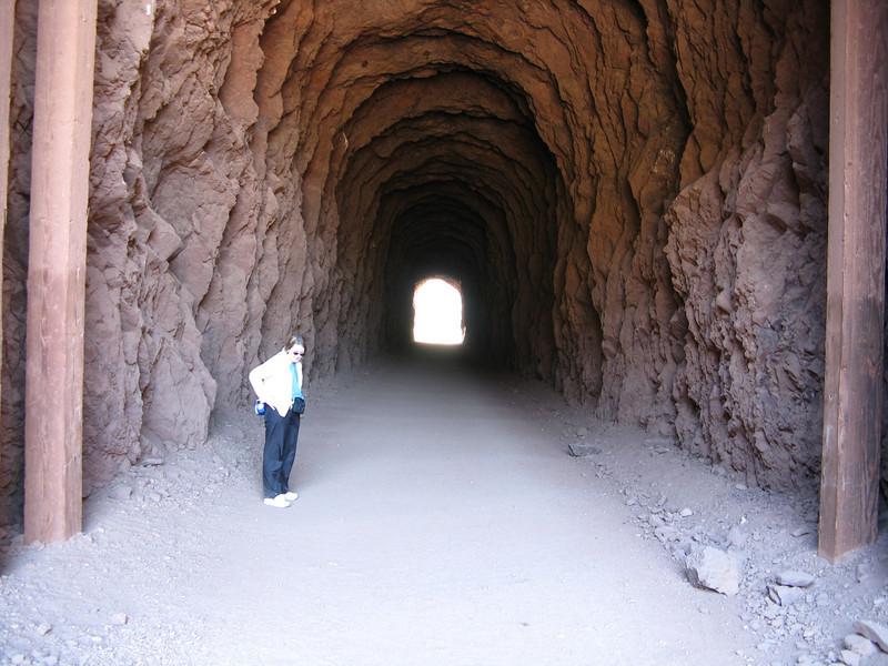 Inside tunnel #3.