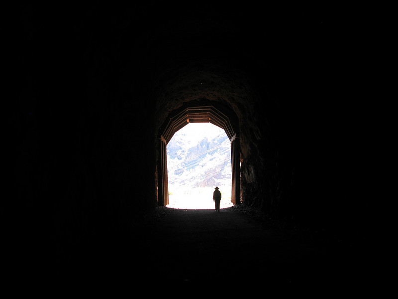 The light at the end of tunnel #2.