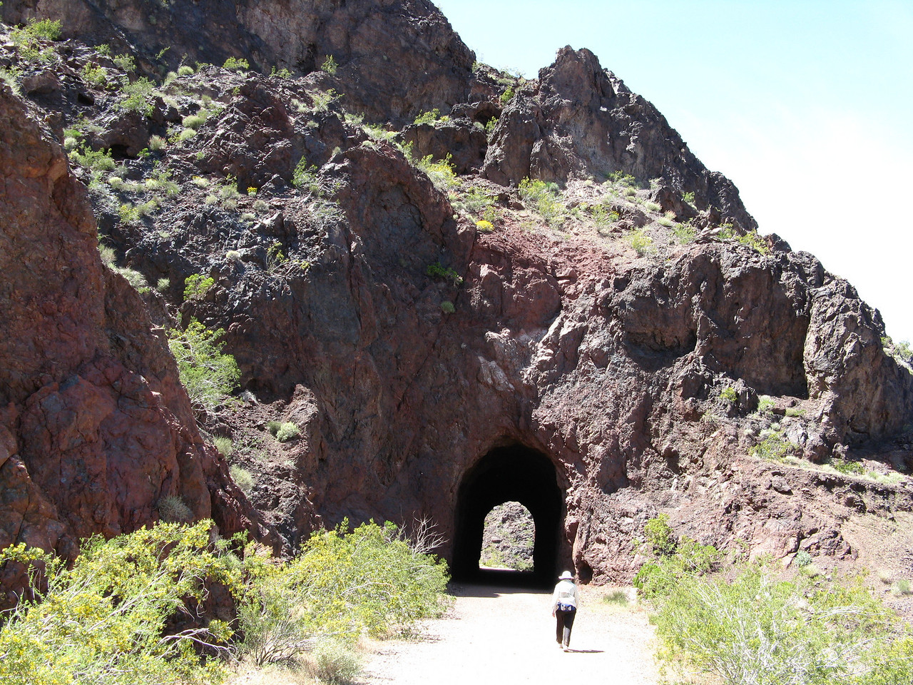 Tunnel #4, downhill side.