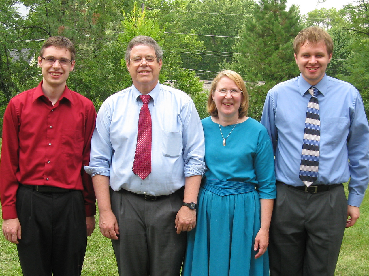 Kevin, Martin, Mary and Nathan.