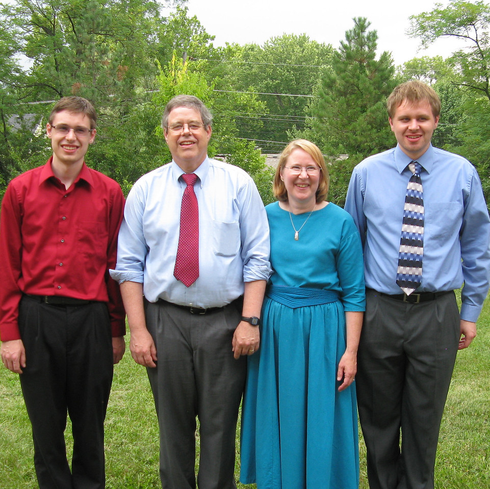 Kevin, Martin Mary and Nathan.