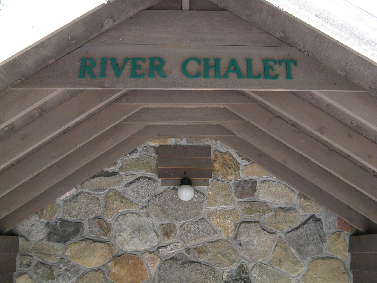 We rented from an agency called Destination Leavenworth, and this unit was called the River Chalet.