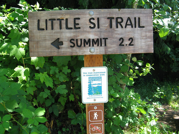 Little Si Trail, July 23, 2011