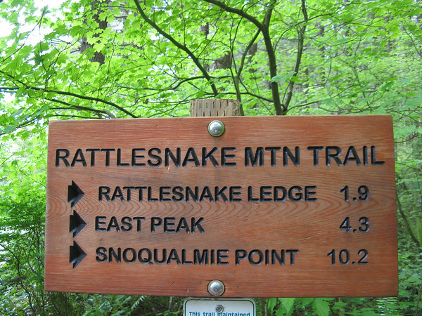 Rattlesnake Ledge Trail, June 5, 2011