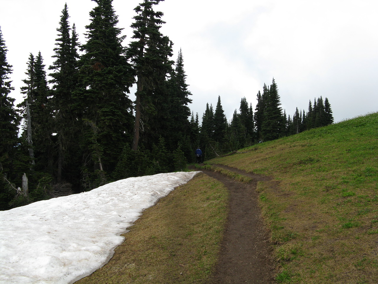 We headed back down the trail.