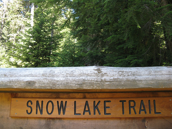 Snow Lake Trail, September 4, 2011