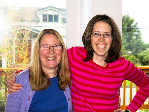 Ann and Christy visit, Nov 11-14, 2012