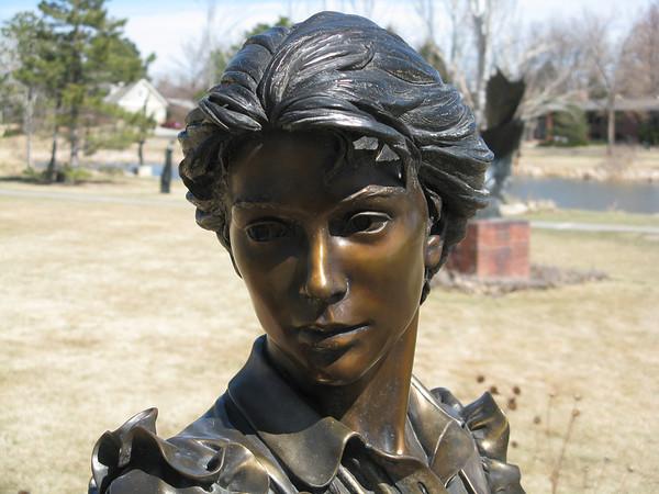 Benson Sculpture Garden #1, Loveland, Colorado, March 22, 2012