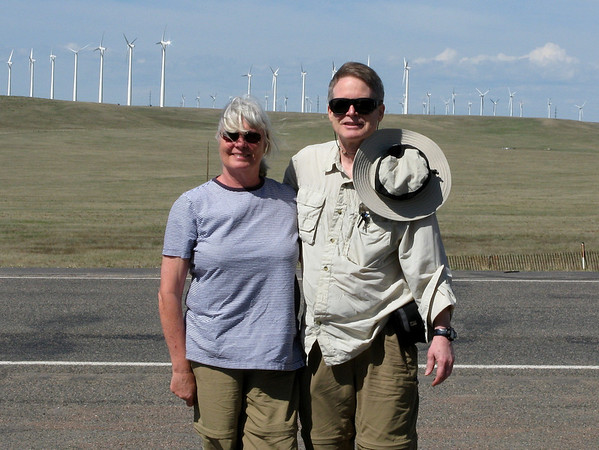 Cheyenne, Wyoming, with Richard and Connie, May 3, 2012
